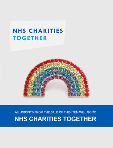 NHS Charities Together Rainbow Pin