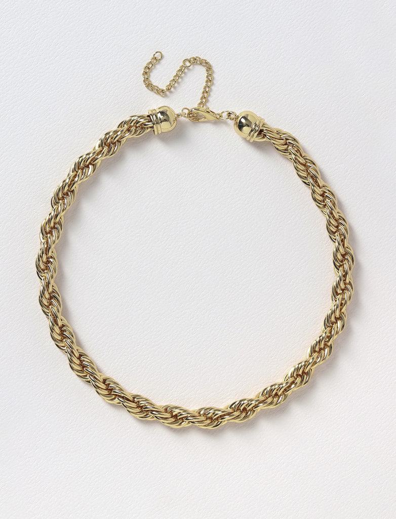CHUNKY TWIST CHAIN NECKLACE