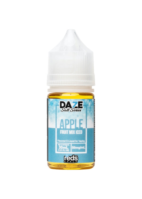 Reds Apple 7 Daze Salt Fruit Mix Iced