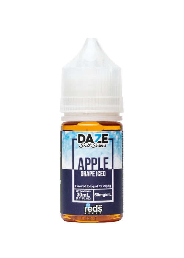 Reds Apple 7 Daze Salt Grape Iced