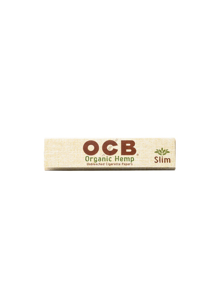 OCB Organic Hemp Slim Papers with Tips