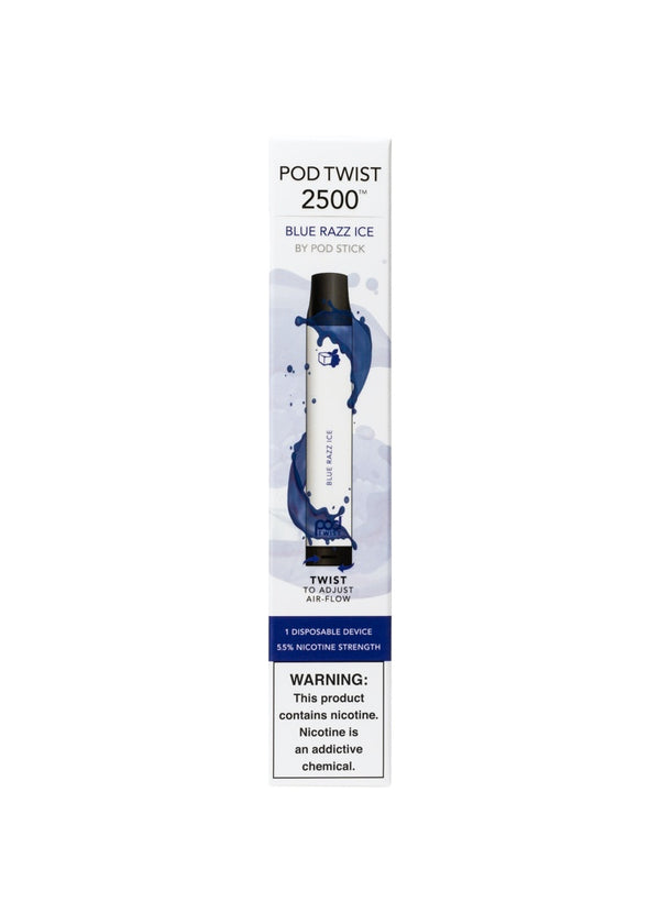 Pod Twist 2500 Blue Razz Ice