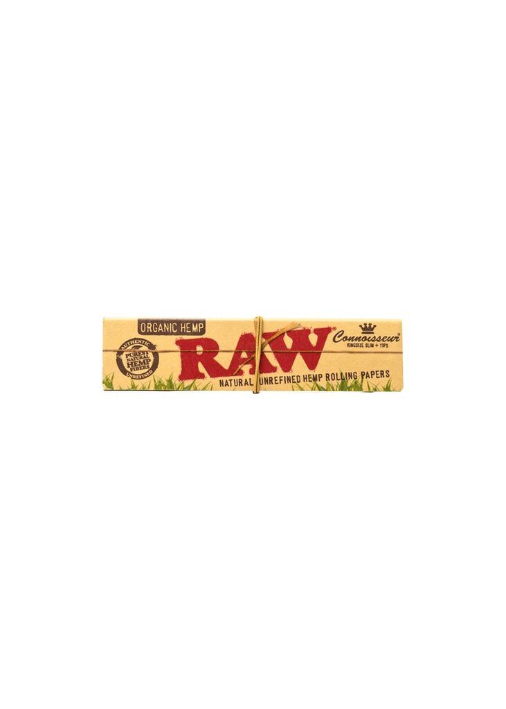 RAW Organic Hemp Kingsize with Tips