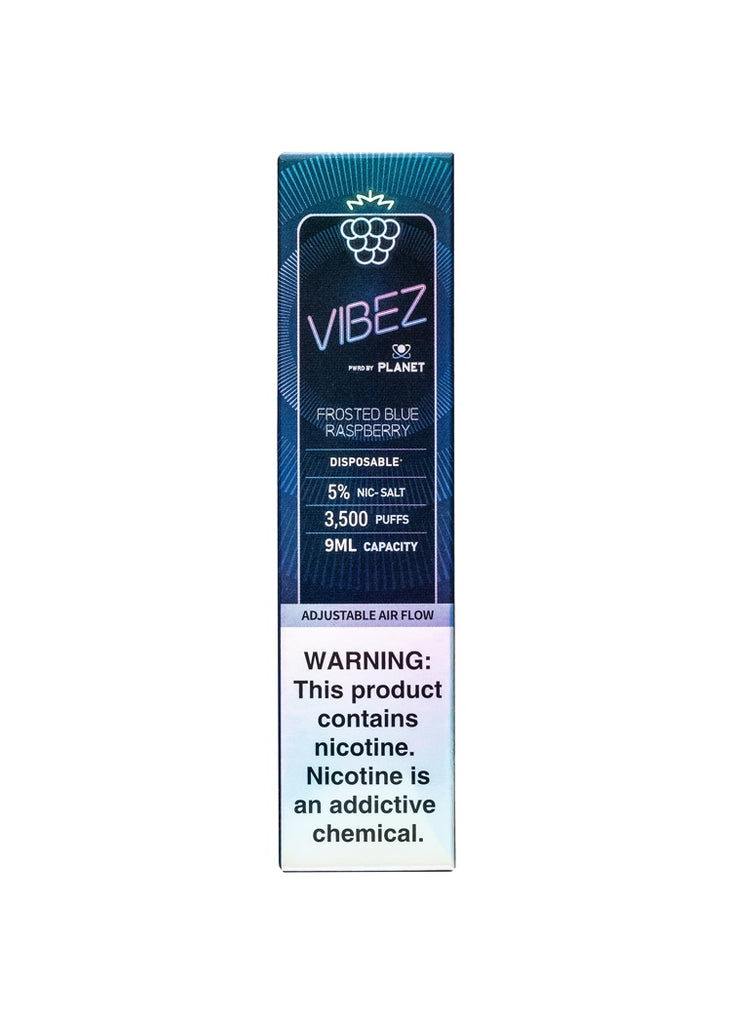 Vibez Frosted Blue Raspberry