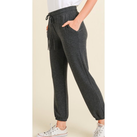 Super soft Charcoal jogger with pocket