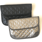 Quilted Convertible Belt Bag or Crossbody Purse (2 colors avail)