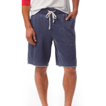 Men's shorts - french terry shorts (washed black and dark navy)