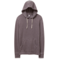 Men's Burnout French Terry Hoodie - navy and black