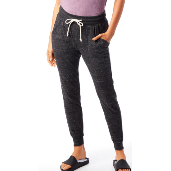 Eco-Jersey Jogger Pants in Eco Black