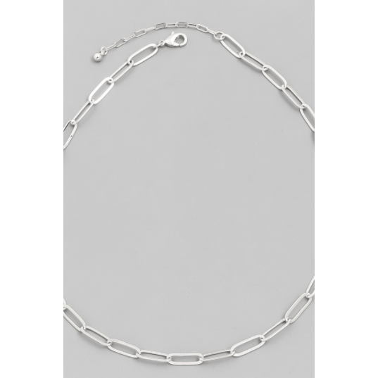 The perfect chain link necklace - gold and silver