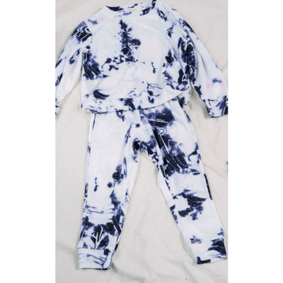 Kids ultra soft tie dye set