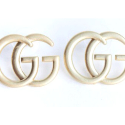 GG stud earrings