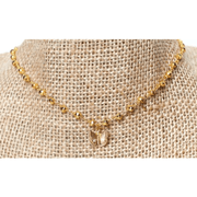 Gold Choker with star or butterfly (2 options available)