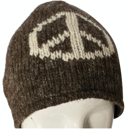 Peace Sign Beanie Hat