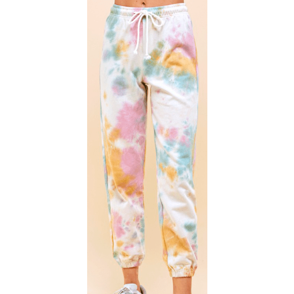 Cotton Tie Dye Heavy Weight Sweat Pant