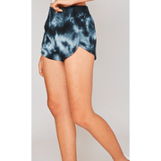 Tie dye terry sweat shorts - multiple options
