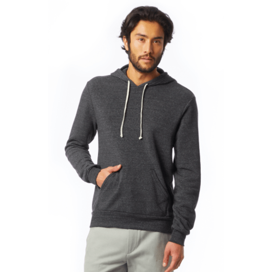 Men's Pullover hoodie (grey and black available)