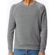 Men's Eco-Fleece grey sweatshirt