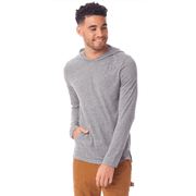 Men's Eco-Jersey Pullover Hoodie (Grey and black available)