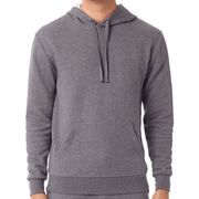 Men's Dark Heather Eco Cozy Pullover Hoodie