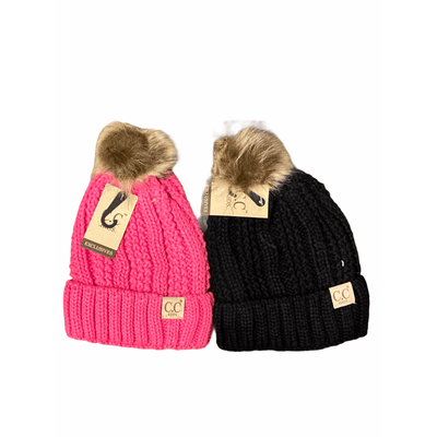 C.C. brand kids Beanie - multiple colors