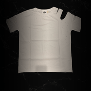 Distressed and cut out tees (2 color options - black and white)