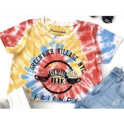 Prince peter Friends cropped tie dye tee