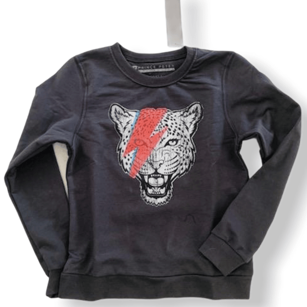 Tween Prince Peter Tiger with Bolt sweatshirt