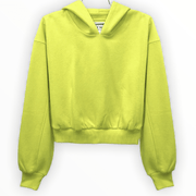 Neon and Black fleece hoodie (2 colors available)