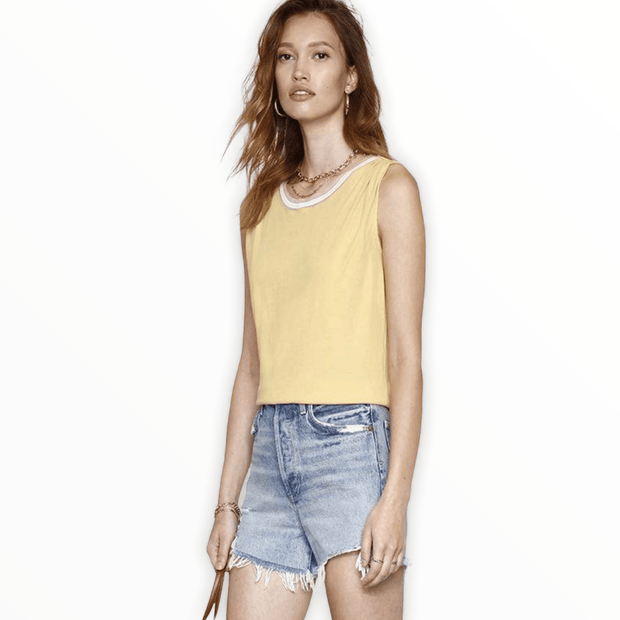 Heartloom Odette tank in yellow