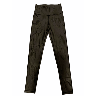 Camo foil print highwaist leggings