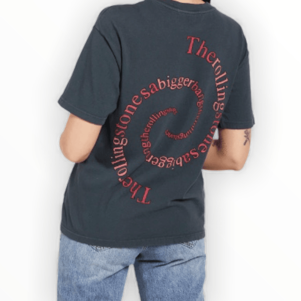Daydreamer brand - Rolling Stones spiral tongue weekend tee
