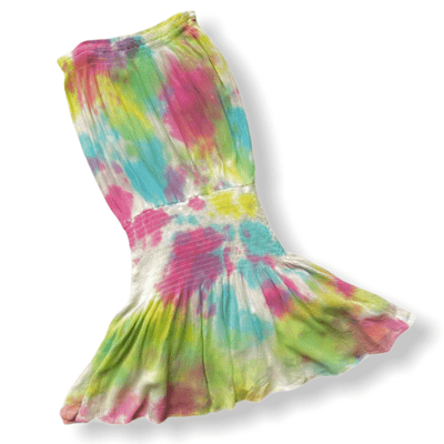 Tween tie dye skort dress
