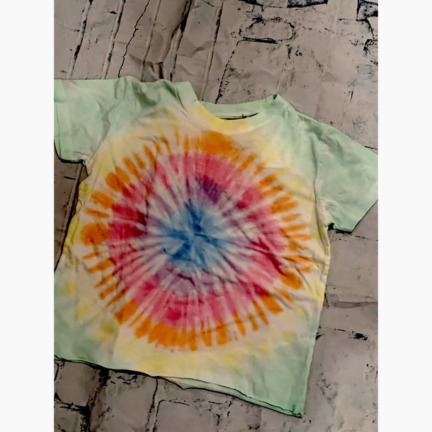 "Kids ""Soft Circle"" Tie-Dye tee"