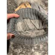 CC quilted puff beanie hat