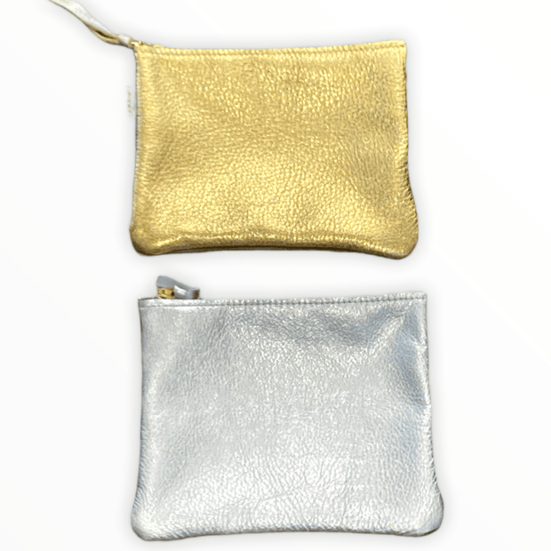 Leather Pouch two tone  - 2 options