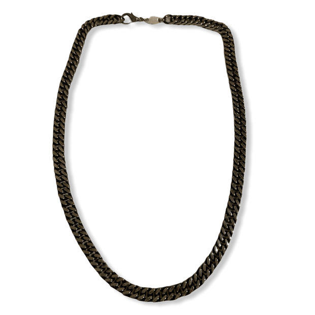 Mirror thick chain link necklace
