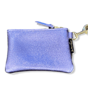 Leather credit card/key chain wallet two toned (multiple options)