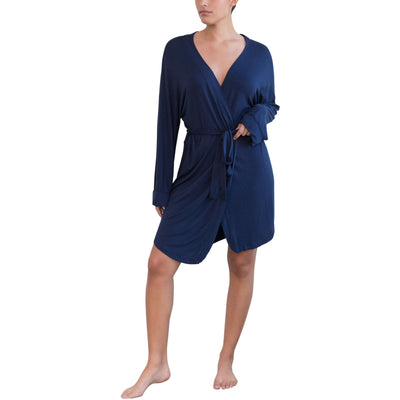 Honeydew Navy robe