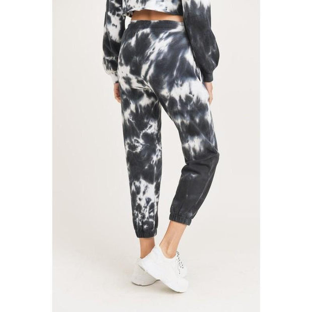 Tie-Dye Cotton Terry Joggers