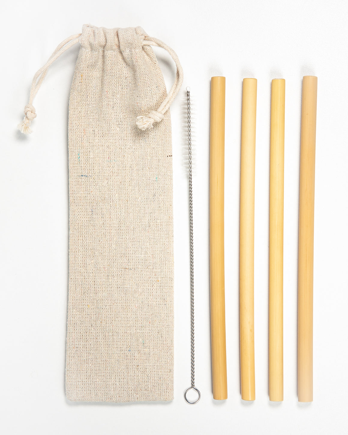Reusable Bamboo Straw Sets