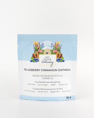 Raspberry Oats (Single-Serve Pouch)