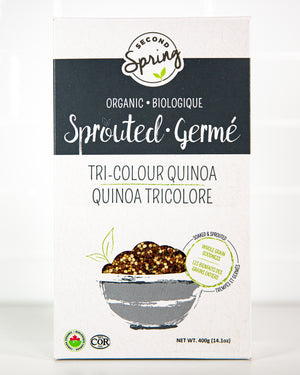 Organic Sprouted Tri-Colour Quinoa