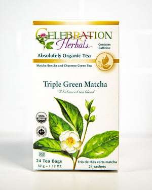Organic Triple Green Matcha Tea