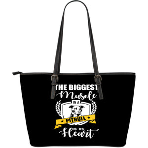 NP Pitbull Leather Tote Bag