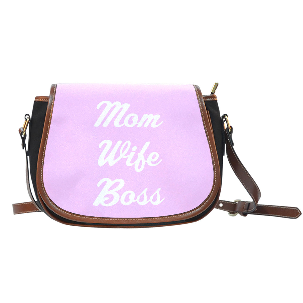 NP Mom Wife Boss Saddle Bag