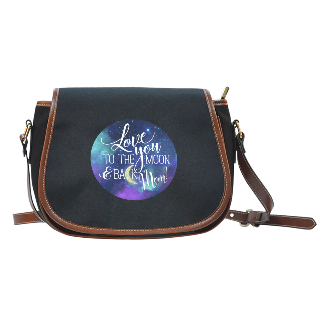 NP Love You To The Moon Saddle Bag