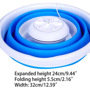 Foldable Mini Washing Machine