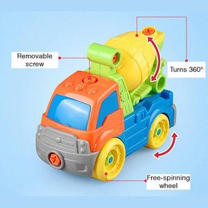 Kid's Build A Toy Truck