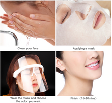 Load image into Gallery viewer, Anti-aging Light Therapy Beauty Face Screen